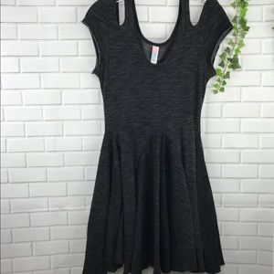 Free People Beach Collection Gray Dress